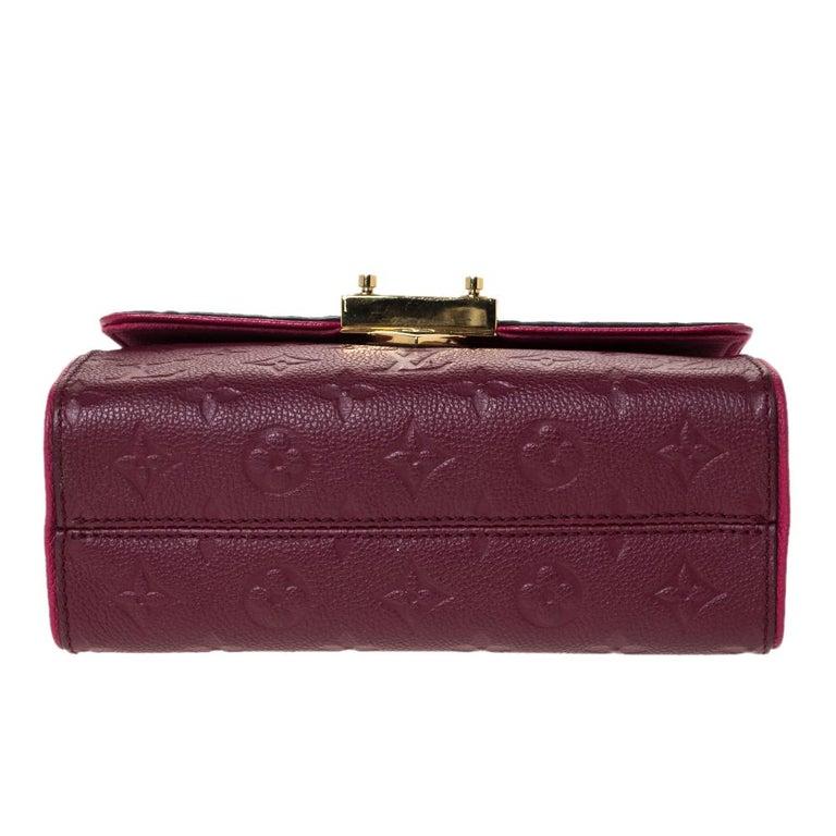 Women's Louis Vuitton Aurore Monogram Empreinte Leather Saint Sulpice Bag For Sale
