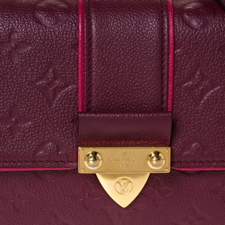 Louis Vuitton Aurore Monogram Empreinte Leather Saint Sulpice Bag For Sale 1
