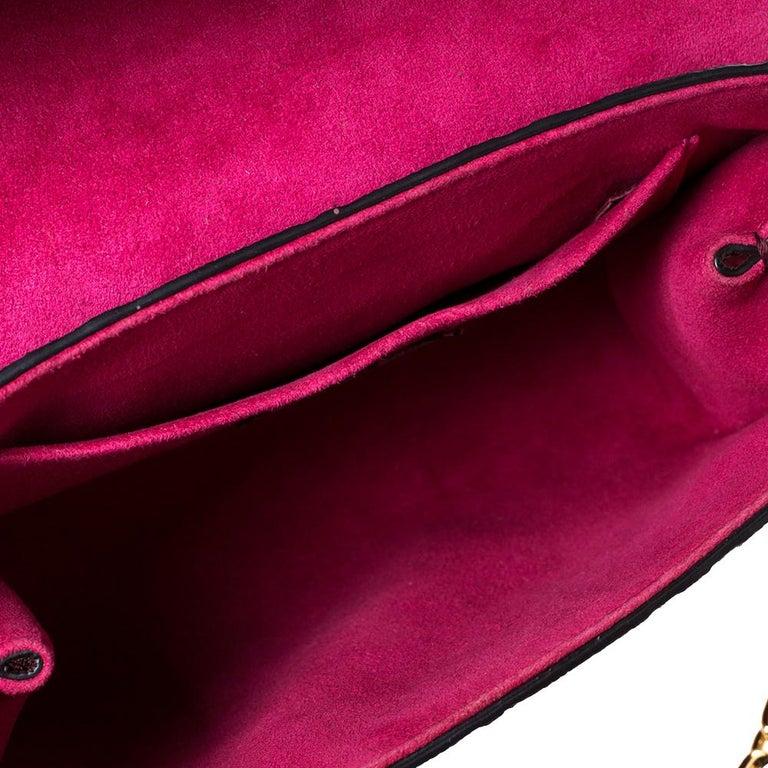 Louis Vuitton Aurore Monogram Empreinte Leather Saint Sulpice Bag For Sale 4