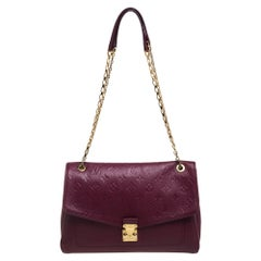 Louis Vuitton Aurore Monogram Empreinte Leather St Germain MM Bag