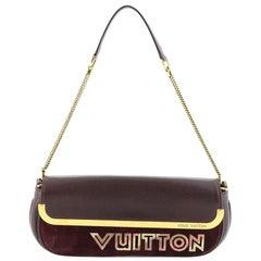 Louis Vuitton Avant Garde Pochette Leather with Suede