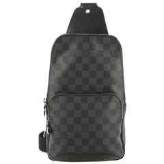 Louis Vuitton Avenue Sling Bag Damier Graphite
