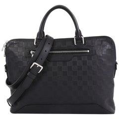 Louis Vuitton Avenue Soft Briefcase Damier Infini Leather