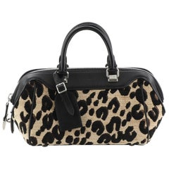 Louis Vuitton Baby Bag Limited Edition Stephen Sprouse Leopard Chenille