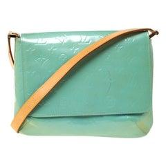 Louis Vuitton Baby Blue Monogram Vernis Thompson Street Bag
