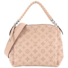 Louis Vuitton Babylone Handbag Mahina Leather BB