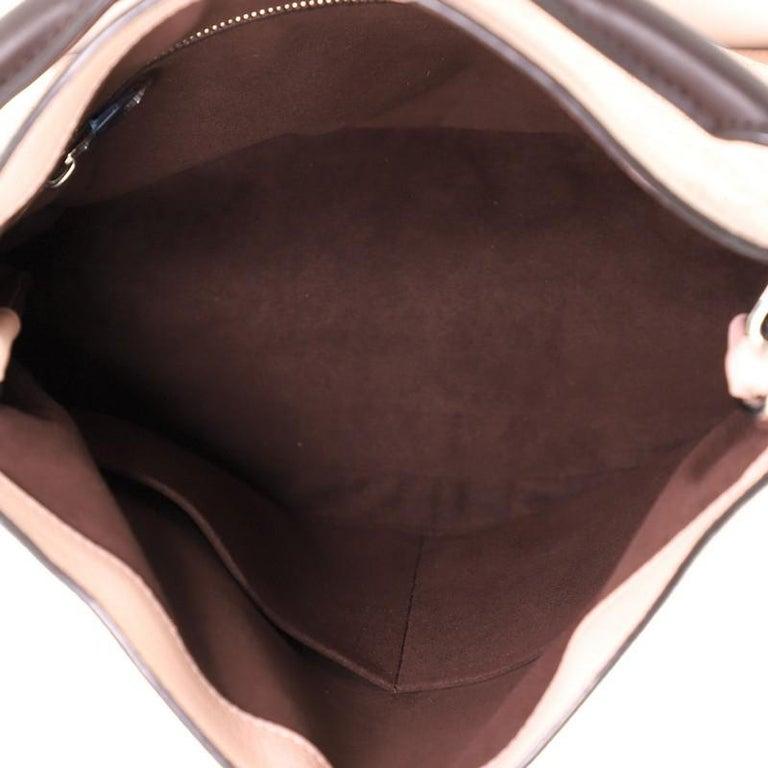 Louis Vuitton Babylone Handbag Mahina Leather PM For Sale 1