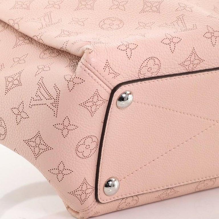 Louis Vuitton Babylone Handbag Mahina Leather PM For Sale 2