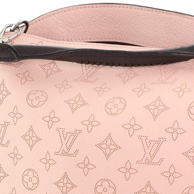 Louis Vuitton Babylone Handbag Mahina Leather PM For Sale 3