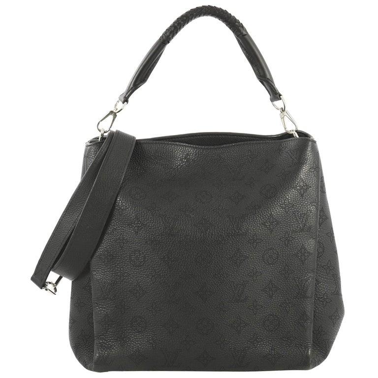 446fd3bd34 Louis Vuitton Babylone Handbag Mahina Leather PM