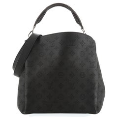 Louis Vuitton Babylone Handbag Mahina Leather PM