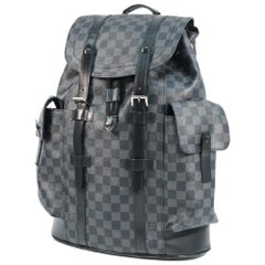 LOUIS VUITTON Backpack Christopher PM Mens ruck sack Daypack N41379 black