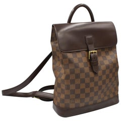 Louis Vuitton backpack in damier canvas