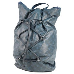 LOUIS VUITTON Backpack Mens ruck sack Daypack M41707 cobalt