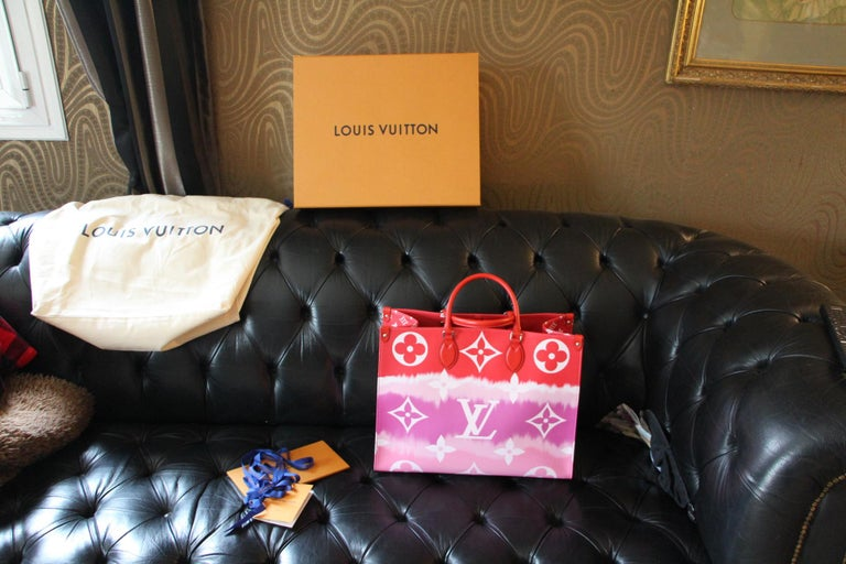 Louis Vuitton Bag Escale on the Go, Brand New 2020 Limited Edition For Sale 7