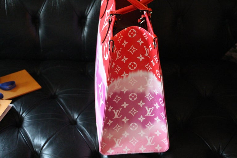 Louis Vuitton Bag Escale on the Go, Brand New 2020 Limited Edition For Sale 8