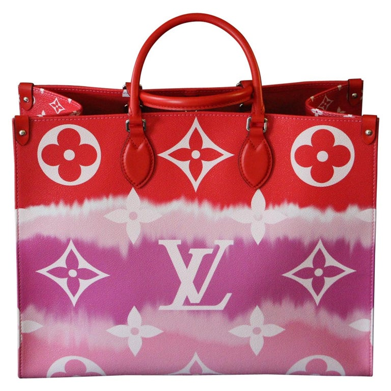 Louis Vuitton Bag Escale on the Go, Brand New 2020 Limited Edition For Sale