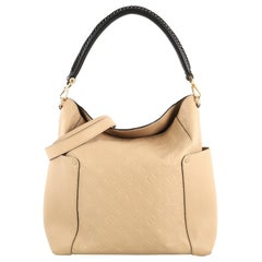 Louis Vuitton Bagatelle Hobo Monogram Empreinte Leather