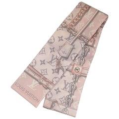 LOUIS VUITTON bandeau Monogram Confidential Womens scarf M70637 pink