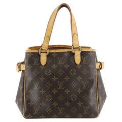 Louis Vuitton Batignolles Handbag Monogram Canvas