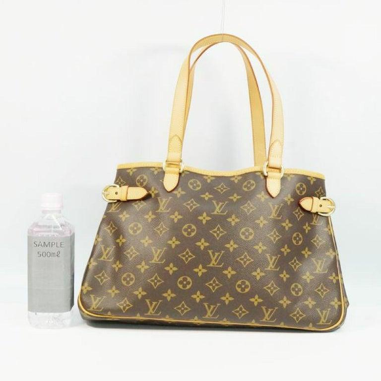 LOUIS VUITTON Batignolles Horizontal Womens tote bag M51154 For Sale 11