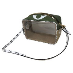 Louis Vuitton Beach Giant Mono Khaki Green Pouch