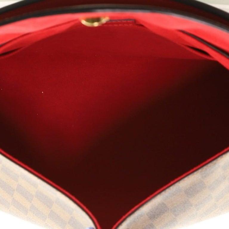 Louis Vuitton Beaubourg Handbag Damier MM For Sale 1