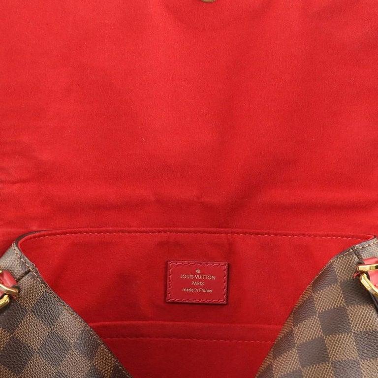 Louis Vuitton Beaubourg Handbag Damier MM For Sale 2