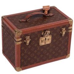 Louis Vuitton Beauty Case, France, 1980s