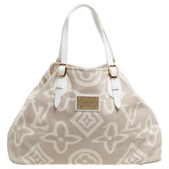 Louis Vuitton Beige Canvas Limited Edition Tahitienne Cabas GM Bag