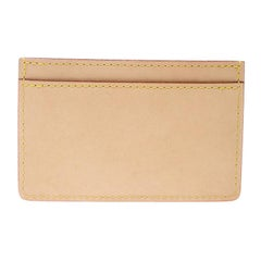 Louis Vuitton Beige Leather Earth Trunks Card Holder