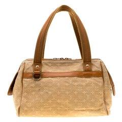 Louis Vuitton Beige Monogram Mini Lin Josephine PM Bag