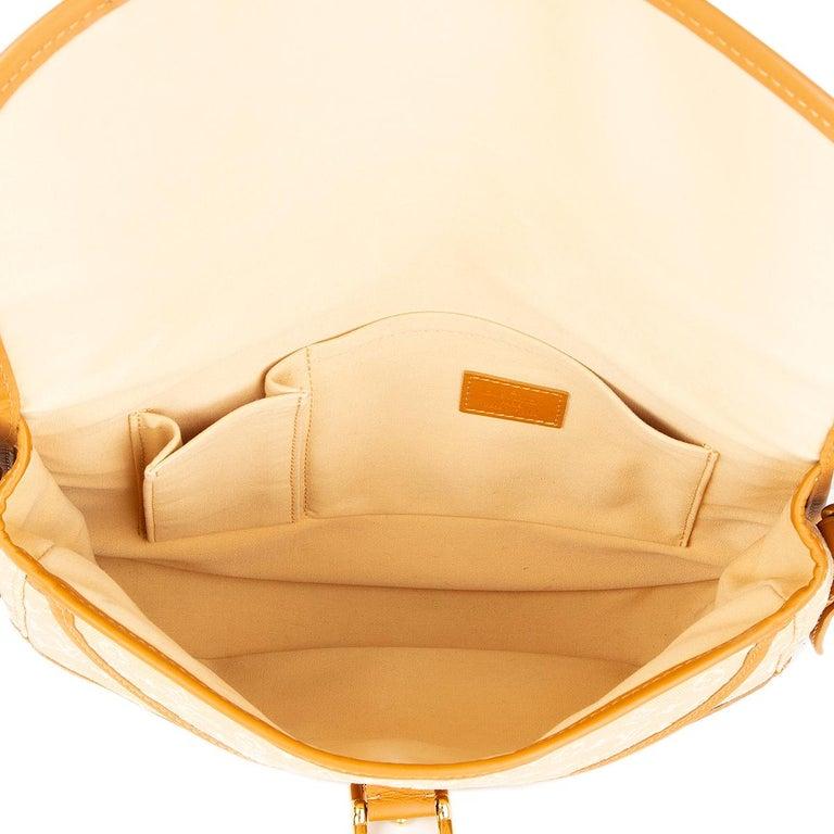 Women's LOUIS VUITTON beige Monogram Mini Lin MAJORIE Shoulder Bag For Sale
