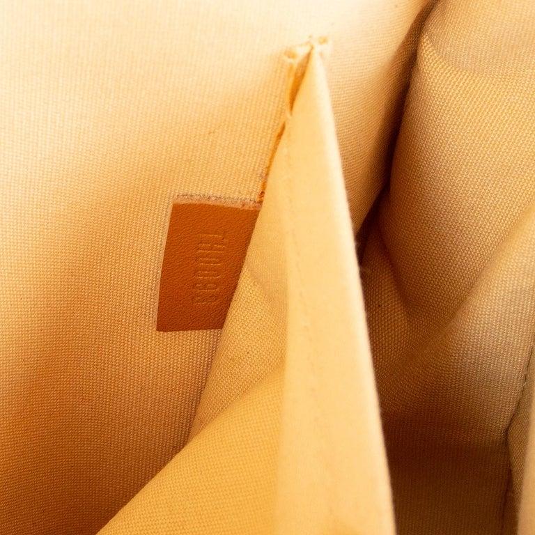 LOUIS VUITTON beige Monogram Mini Lin MAJORIE Shoulder Bag For Sale 2