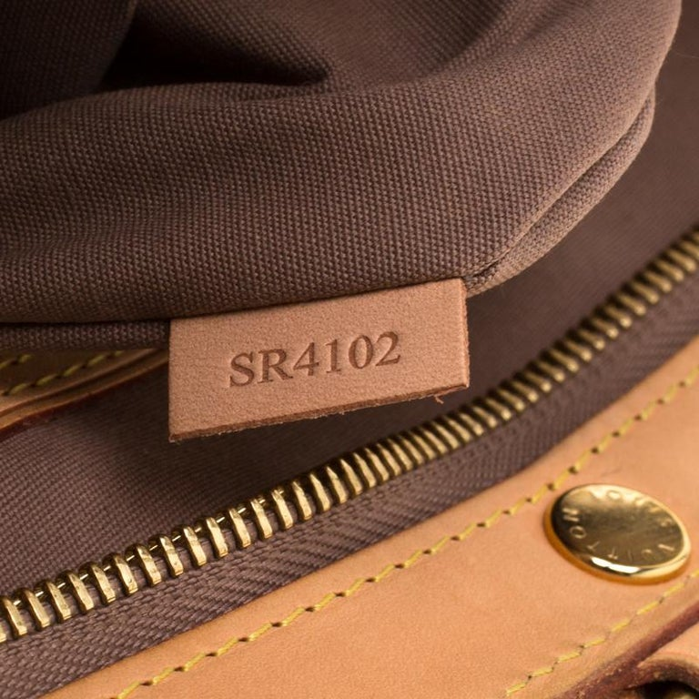 Louis Vuitton Beige Poudre Monogram Vernis Brea GM Bag For Sale 3