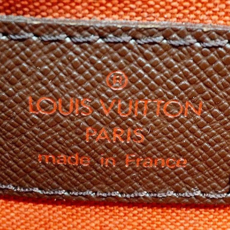 LOUIS VUITTON Belem PM Womens handbag N51173 Damier ebene For Sale 6