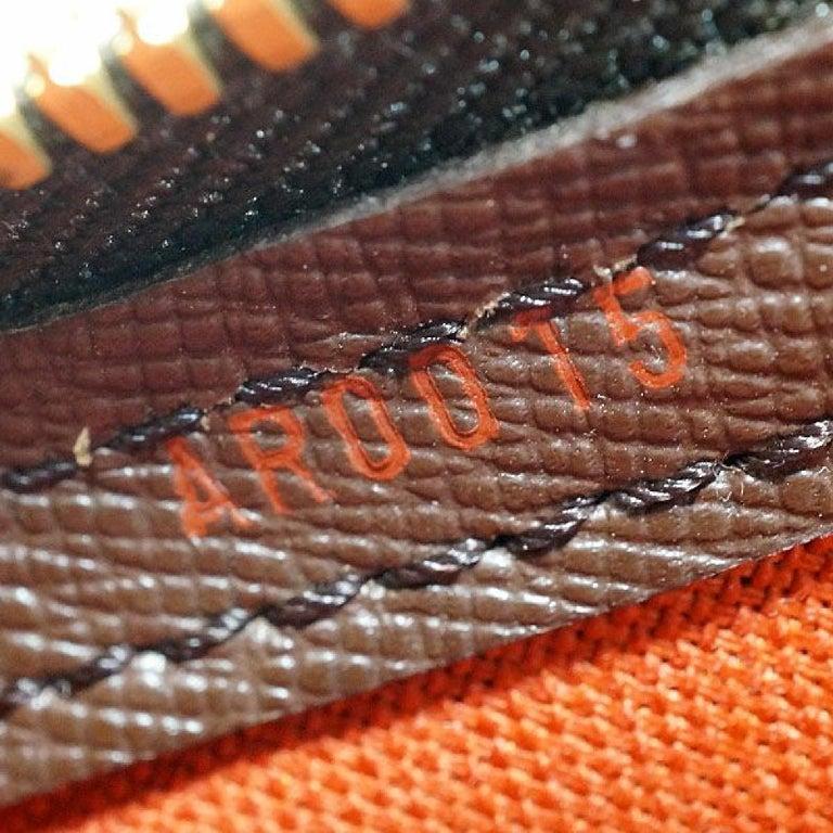 LOUIS VUITTON Belem PM Womens handbag N51173 Damier ebene For Sale 7
