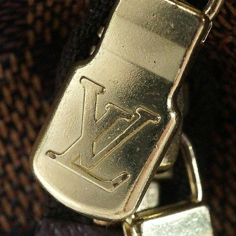 LOUIS VUITTON Belem PM Womens handbag N51173 Damier ebene For Sale 8