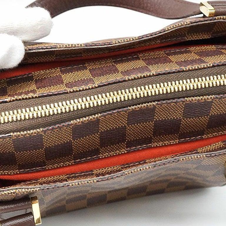 LOUIS VUITTON Belem PM Womens handbag N51173 Damier ebene For Sale 9