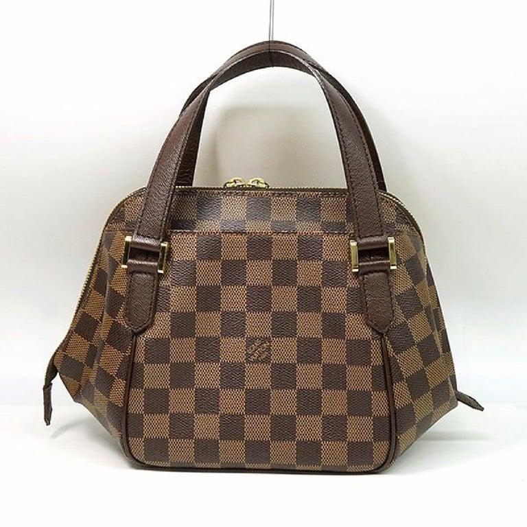LOUIS VUITTON Belem PM Womens handbag N51173 Damier ebene In Excellent Condition For Sale In Takamatsu-shi, JP