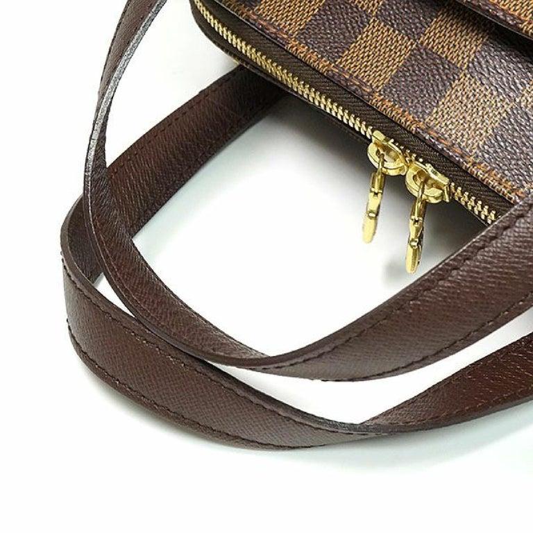 Women's LOUIS VUITTON Belem PM Womens handbag N51173 Damier ebene For Sale