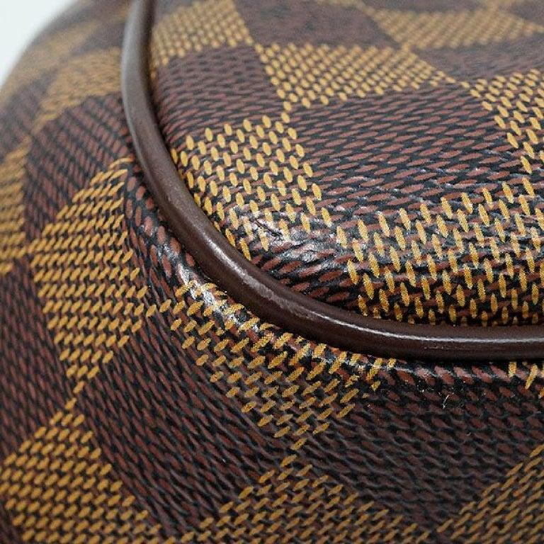 LOUIS VUITTON Belem PM Womens handbag N51173 Damier ebene For Sale 2