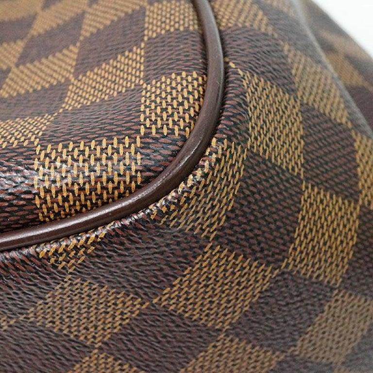 LOUIS VUITTON Belem PM Womens handbag N51173 Damier ebene For Sale 3