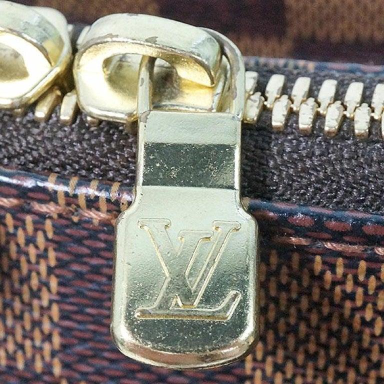 LOUIS VUITTON Belem PM Womens handbag N51173 Damier ebene For Sale 4