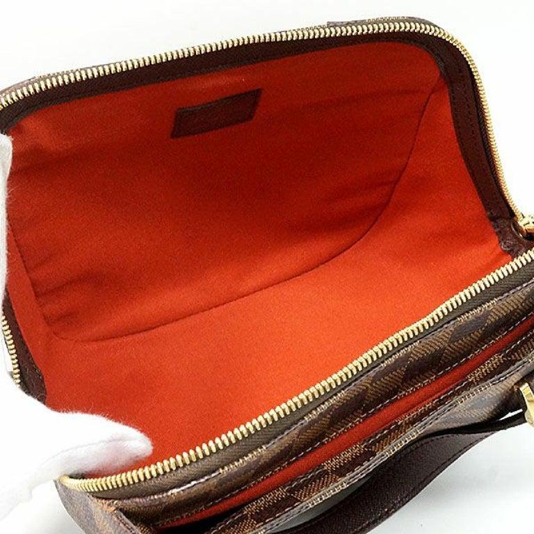 LOUIS VUITTON Belem PM Womens handbag N51173 Damier ebene For Sale 5
