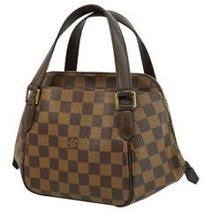 LOUIS VUITTON Belem PM Womens handbag N51173 Damier ebene