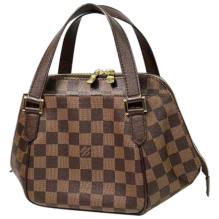 LOUIS VUITTON Belem PM Womens handbag N51173 Damier ebene For Sale