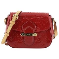 Louis Vuitton Bellflower Handbag Monogram Vernis PM