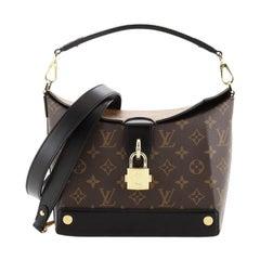 Louis Vuitton Bento Box Handbag Reverse Monogram Canvas EW