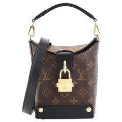 Louis Vuitton Bento Box Handbag Reverse Monogram Canvas
